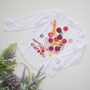 ⏰LAST CHANCE⏰ Zara Baby Cherry Clafouti Tee